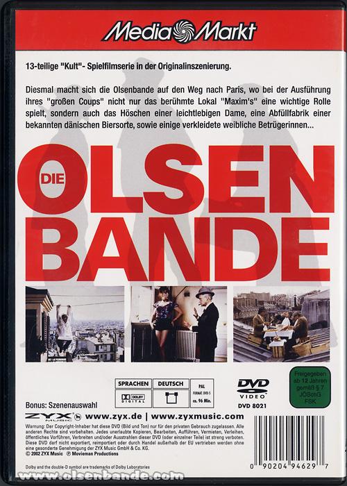 filme 13 blu ray dvd vhs olsenbandenfanclub deutschland. Black Bedroom Furniture Sets. Home Design Ideas