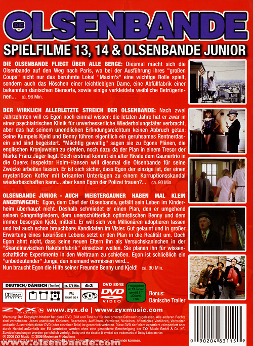 filme junior blu ray dvd vhs olsenbandenfanclub deutschland. Black Bedroom Furniture Sets. Home Design Ideas