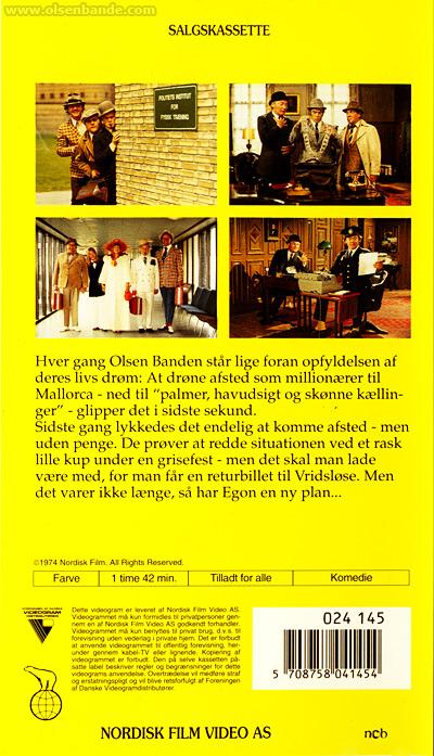 filme 6 blu ray dvd vhs olsenbandenfanclub deutschland. Black Bedroom Furniture Sets. Home Design Ideas