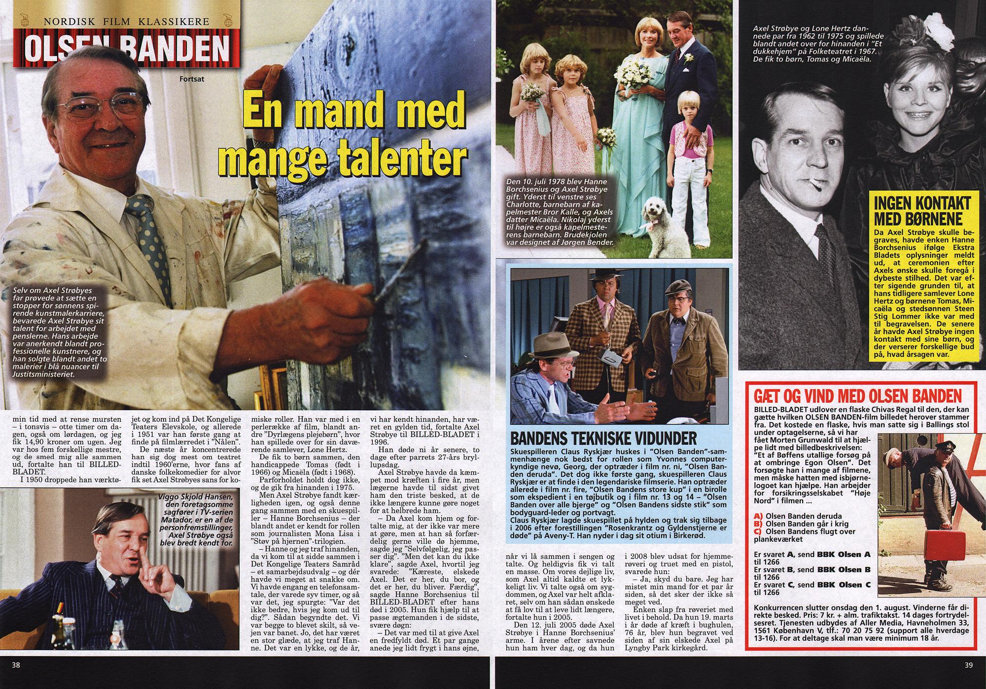 Presse Billed Bladet Nr 302012 Axel Strøbye